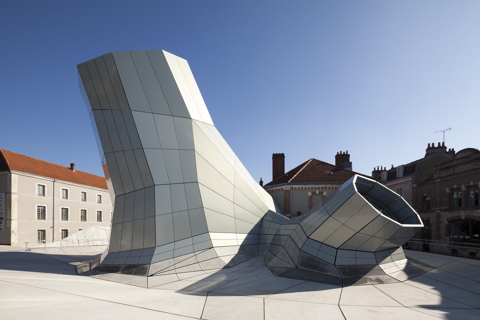 #3C5B8F The Turbulences FRAC Centre / Jakob   Macfarlane Architects © Nicolas  1416 Quanto Custa Uma Janela De Aluminio Com Vidro Duplo