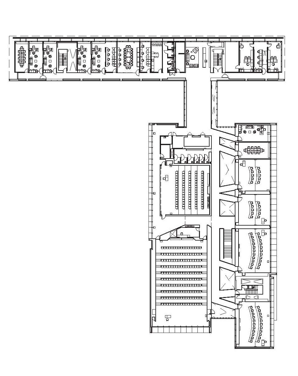 Gallery of university of oregon hatfield dowlin complex for Floorplan or floor plan