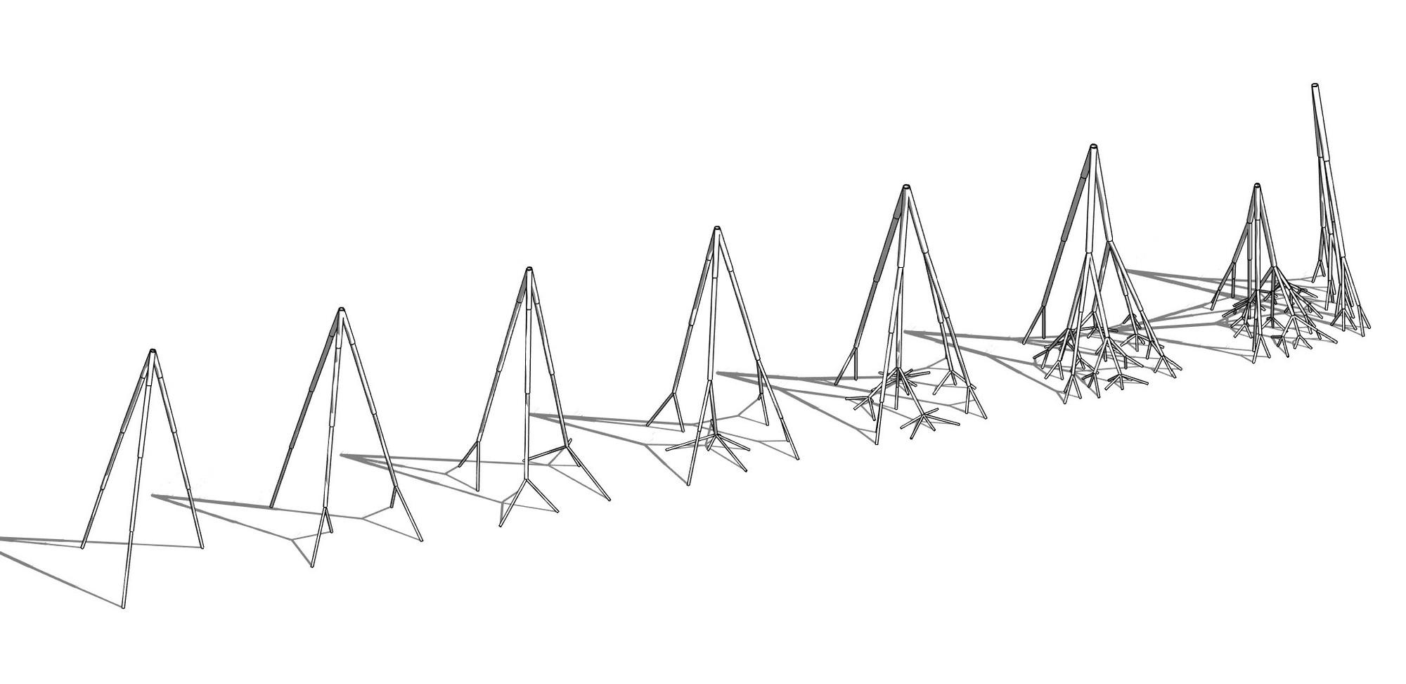 Estructura. Image Courtesy of Equipo Segundo Lugar