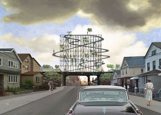 2nd Prize ($2500): Queens Billboard / Nikolay Martynov of Basel, Switzerland