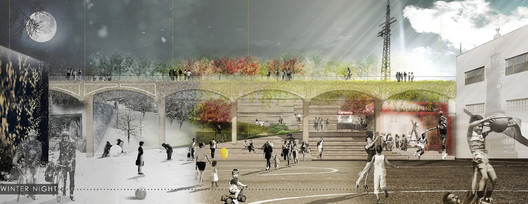 ENYA Prize ($5000): The Queensway Steps / Carrie Wibert of Paris, France