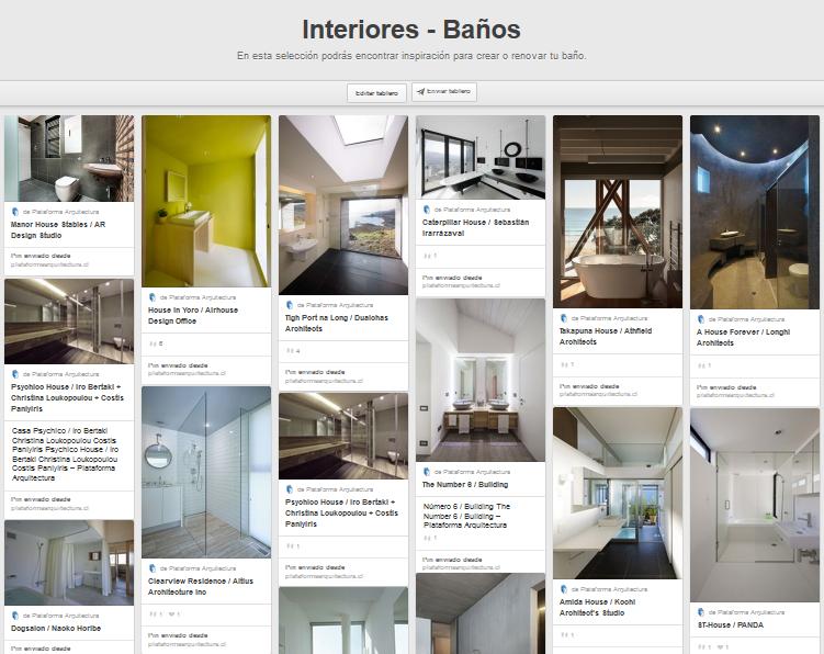 Plataforma Arquitectura en Pinterest