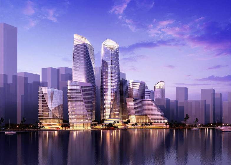 Farrells Selected to Masterplan Two Sites in Shenzhen's Qianhai Financial District, © Farrells