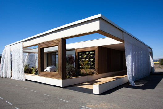 Solar Decathlon 2013: Team Austria Wins Top Honors. Image © Jason Flakes/U.S. DOE Solar Decathlon