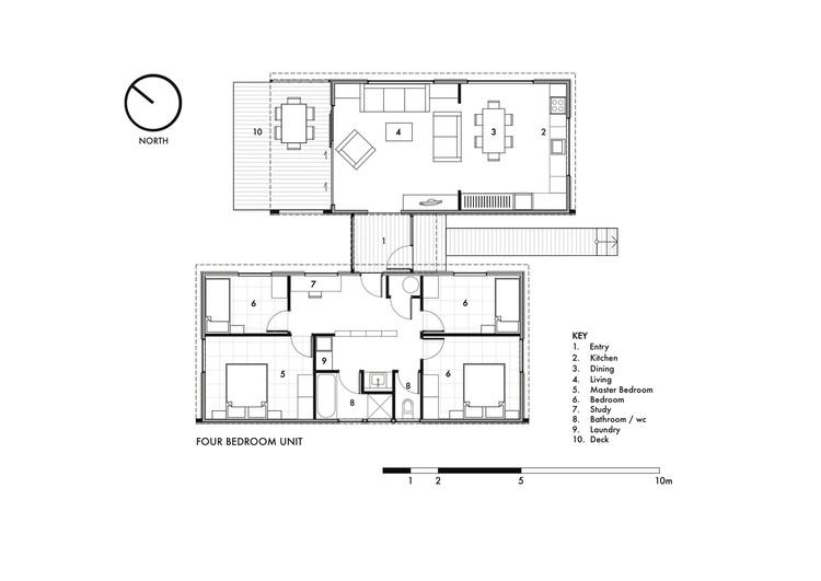 Unidad de cuatro dormitorios