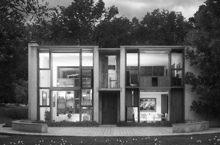 Casa Esherick / Louis Kahn. Image © Ronan Beckerman