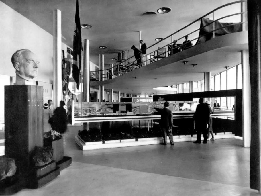 Galeria de cl ssicos da arquitetura pavilh o de nova york - Arquitecto de brasilia ...