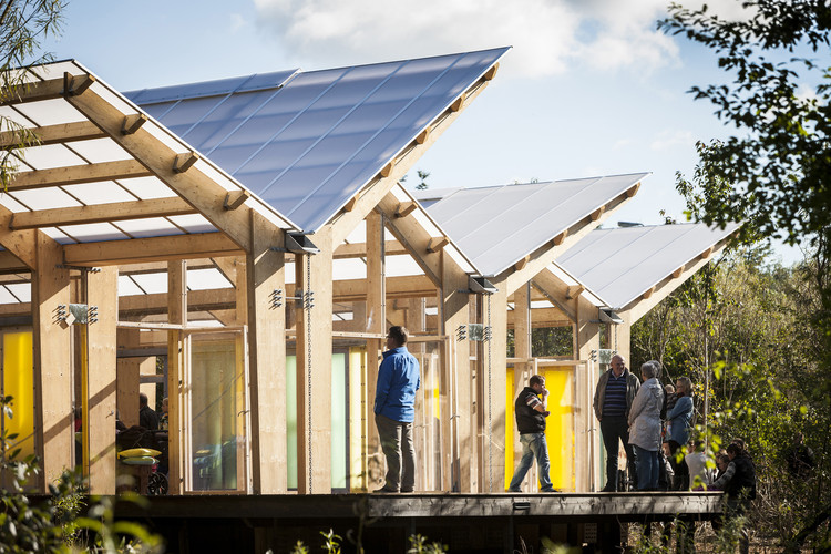 Fjelstervang Udeforsamlingshus  / Spektrum Arkitekter, Cortesía de Spektrum Arkitekter