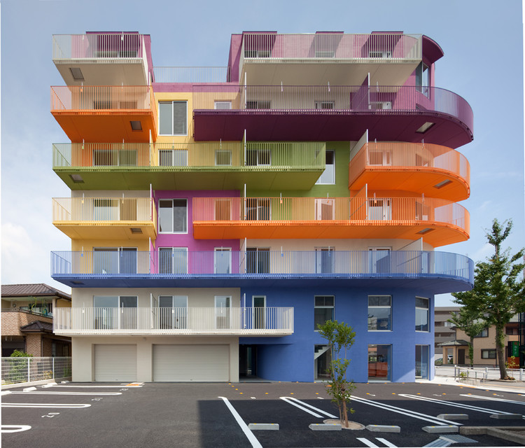 Edificio en Okazaki / Henri Gueydan, © Toshihisa Iishi