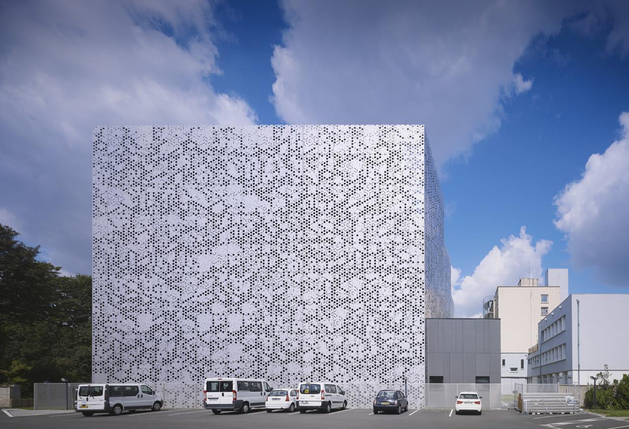Magasins Des Archives Departamentales Du Nord / zigzag architecture + de Alzua+, © Julien Lanoo