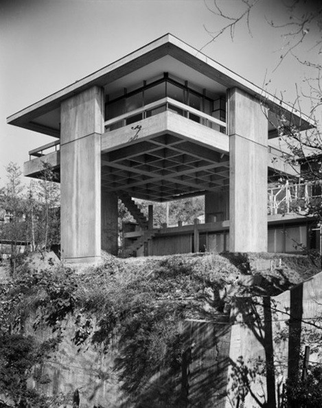 Sky House, Tokyo, 1958. Image © Kawashima Architecture Photograph Office