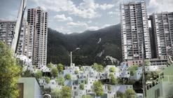 """""""Inter-Active Dwellings"""" en Bogotá: Construyendo barrios con las reglas conceptuales de una Red Social"""