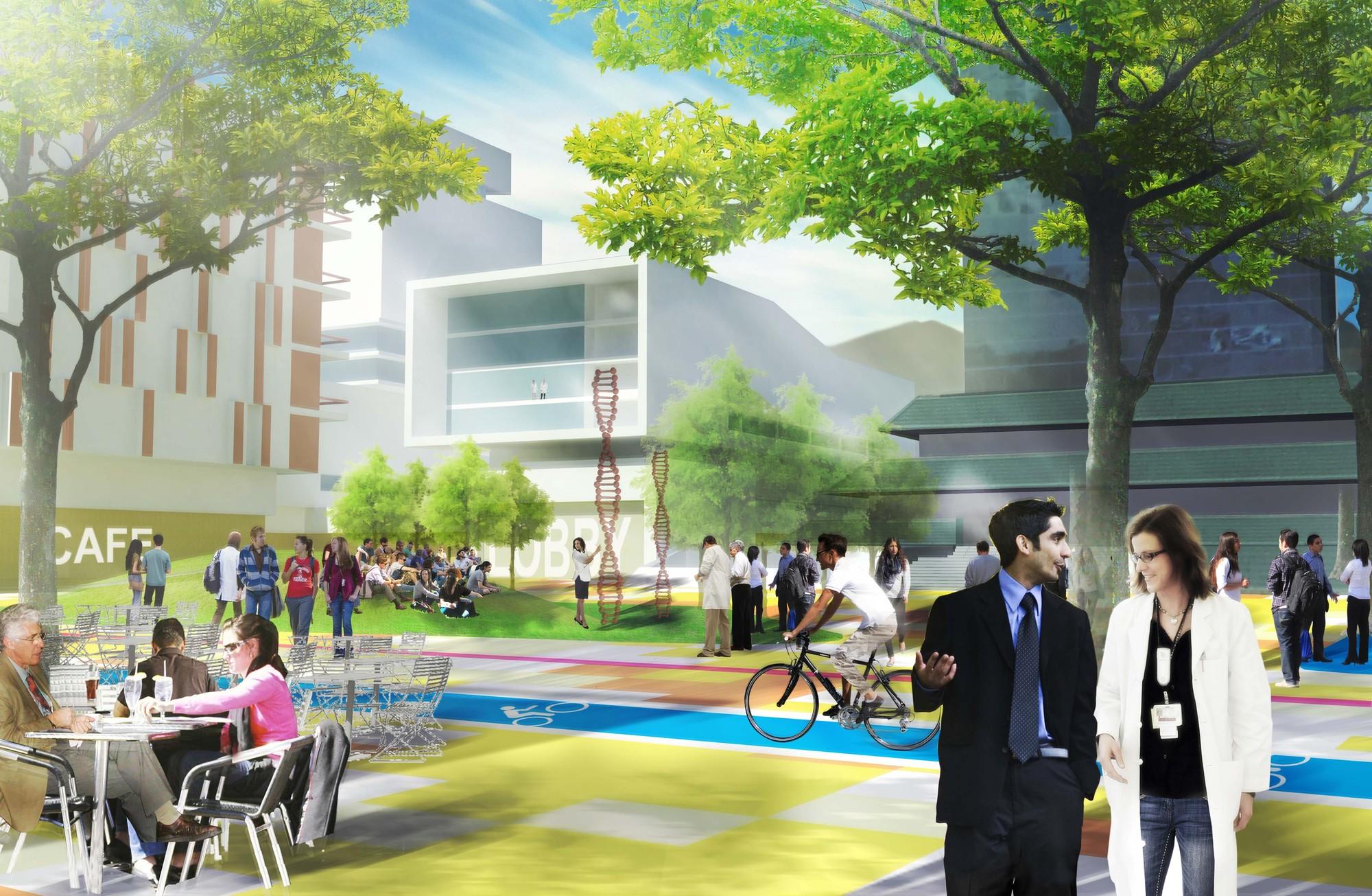 Nodo Investigación. Image Courtesy of Centro de Prensa del Tecnológico de Monterrey