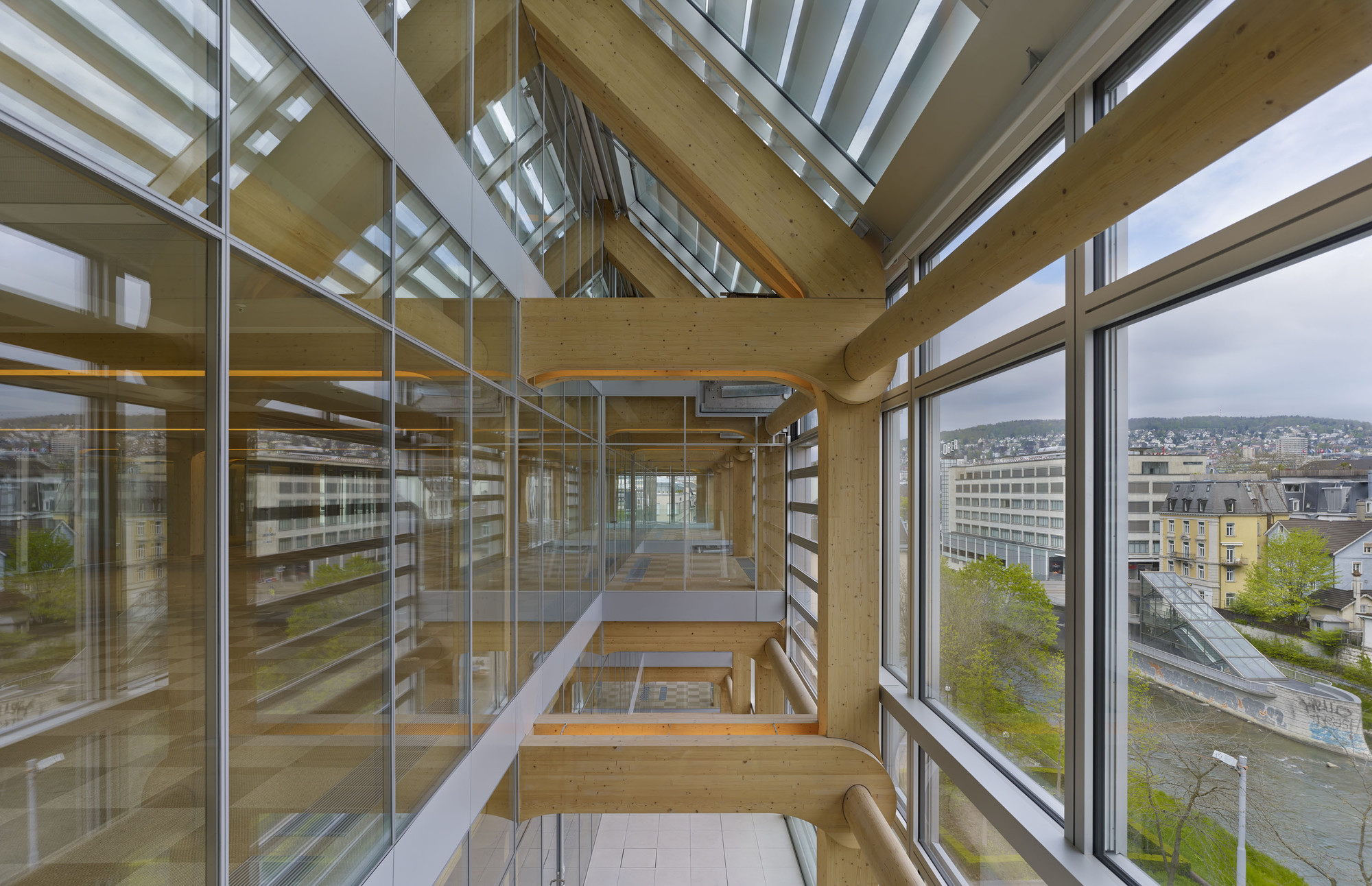 Gallery Of Tamedia Office Building Shigeru Ban
