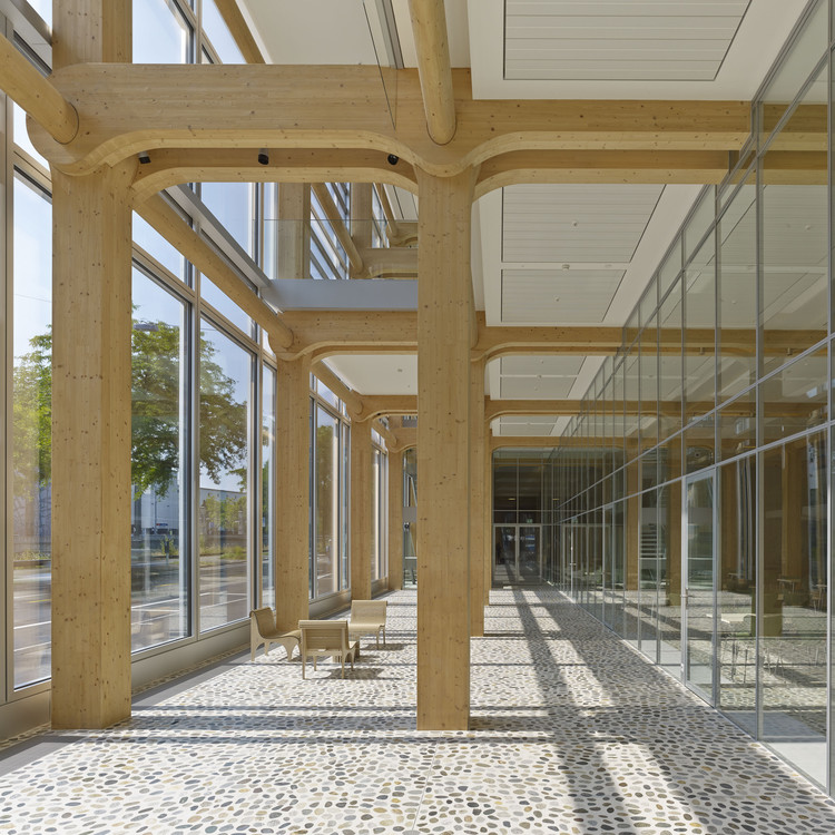 Tamedia Office Building / Shigeru Ban Architects, © Didier Boy de la Tour