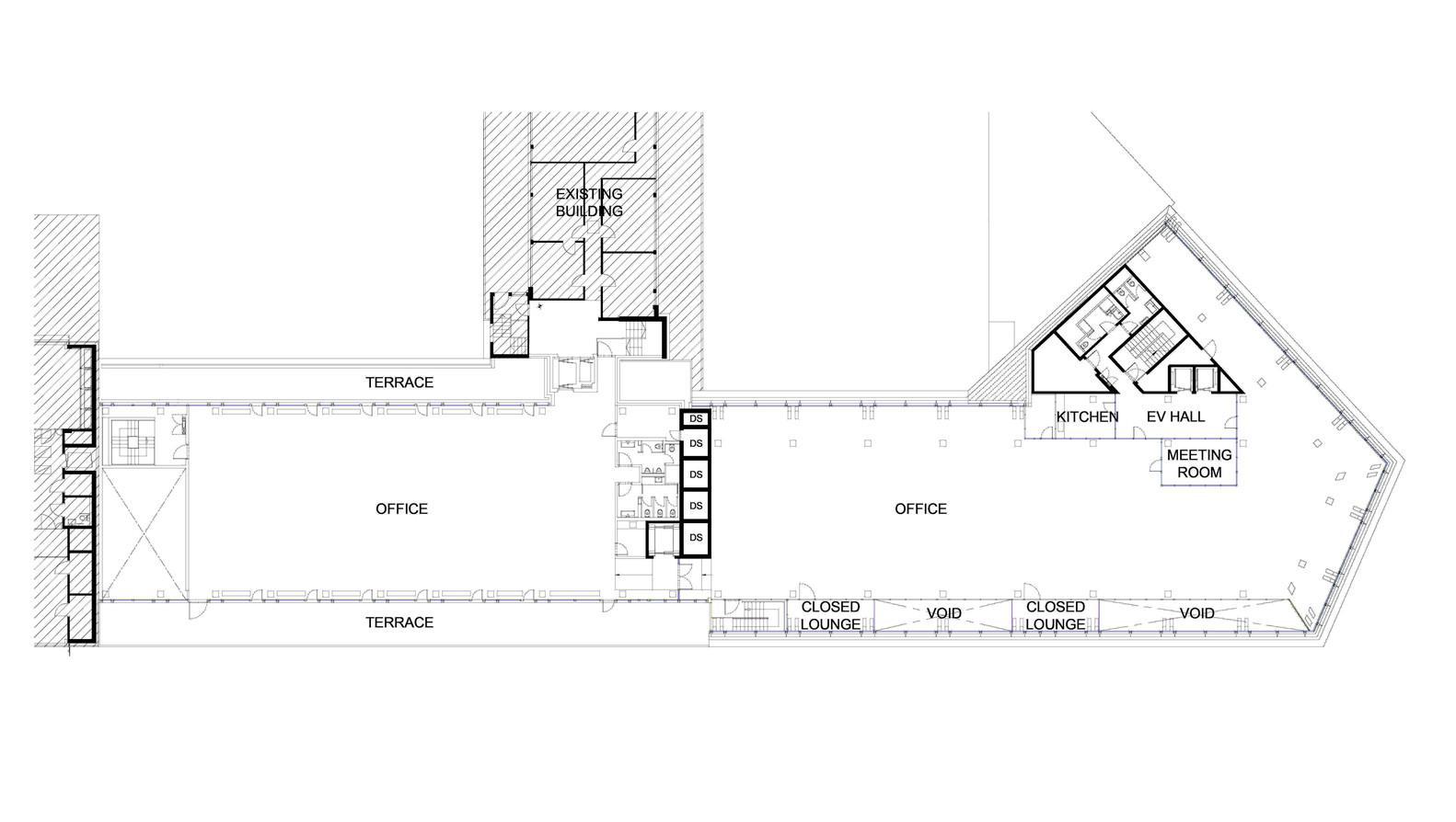 Office Building Floor Plans: Gallery Of Tamedia Office Building / Shigeru Ban