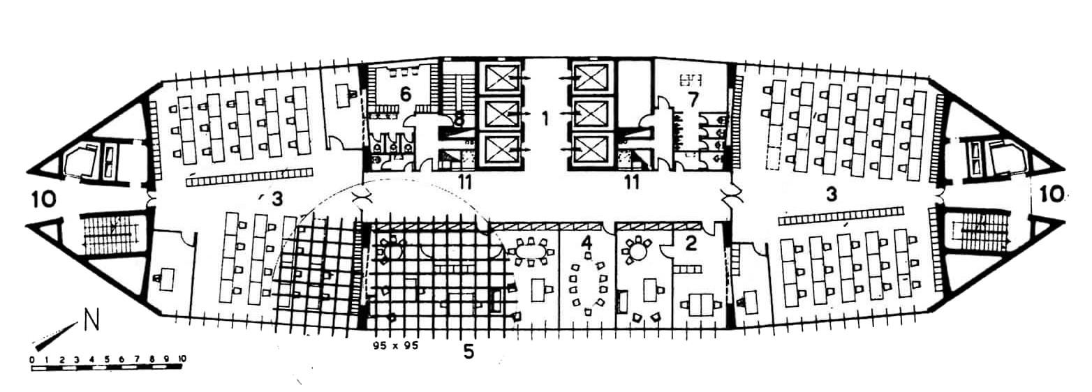 ad classics pirelli tower gio ponti pier luigi nervi metlife building floor plan free home design ideas images
