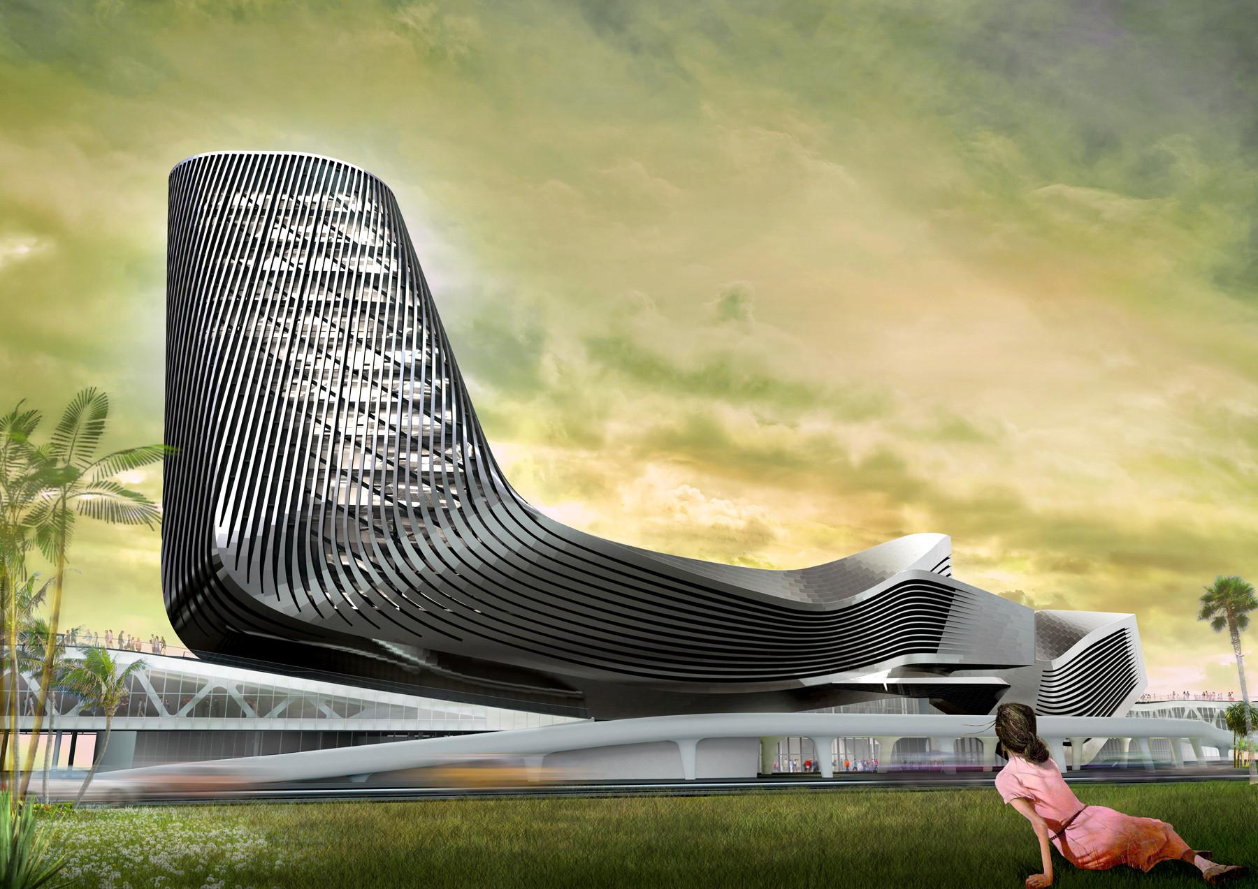 10 Proyectos No Construidos Honrados Con El Premio Progressive Architecture, © RUR Arquitectura
