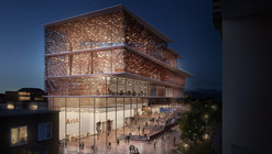 "Kengo Kuma Presents Shortlisted Design for ArtA ""Civic Center"" in Arnhem"