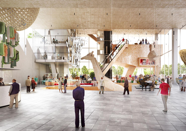 Arts Square. Image Courtesy of NL Architects