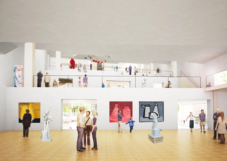 Museum . Image Courtesy of NL Architects
