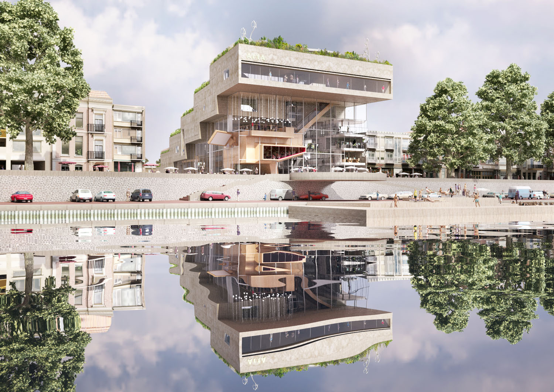 Rhine View. Image Courtesy of NL Architects