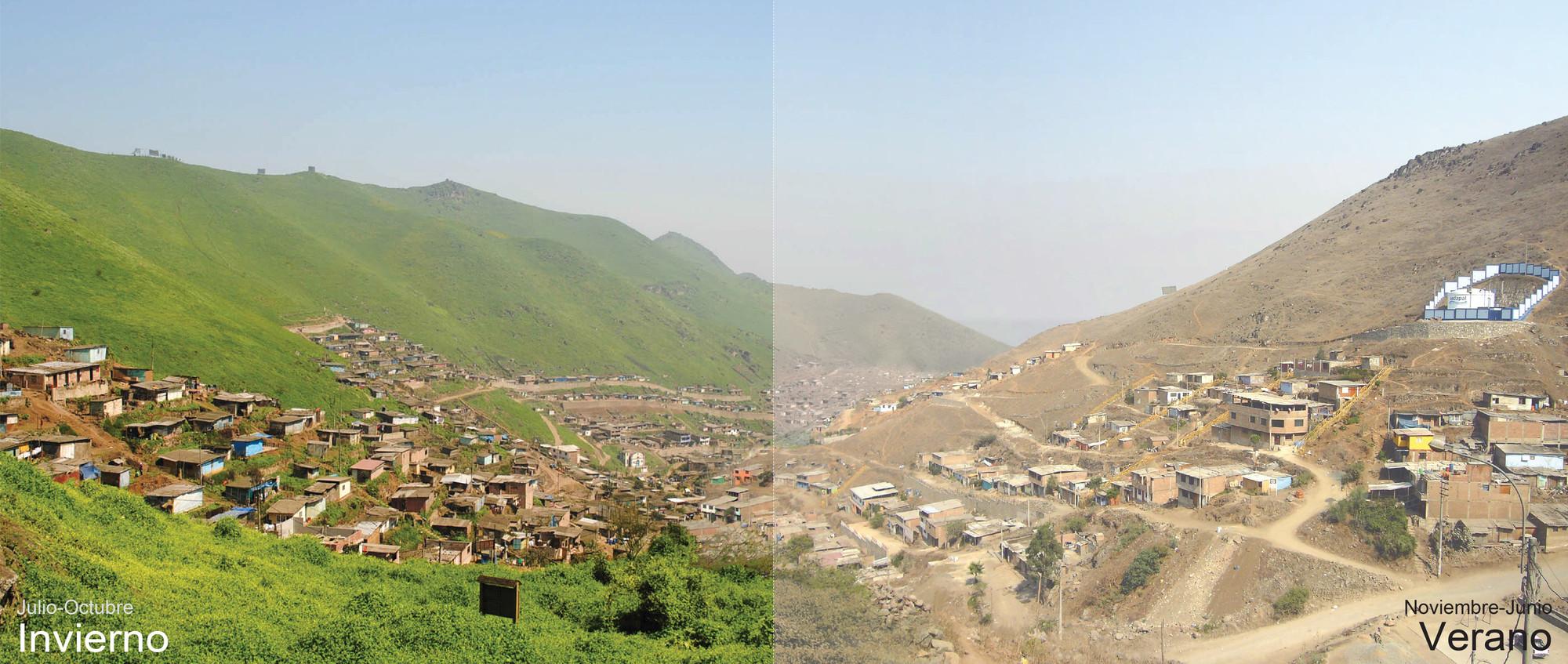 Las Lomas de VMT / Verano e Invierno. Image Courtesy of Marius Ege