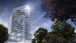 J. Mayer H. Designs 70-Meter Tower for Duesseldorf
