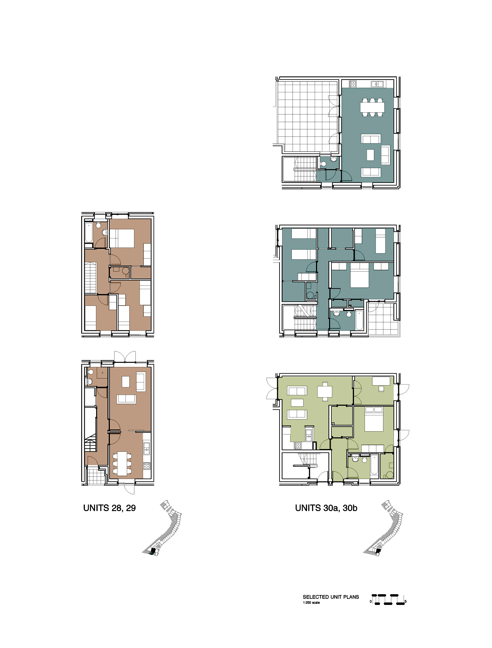 Gallery of social housing in shangan avenue fkl for Floor plans for units