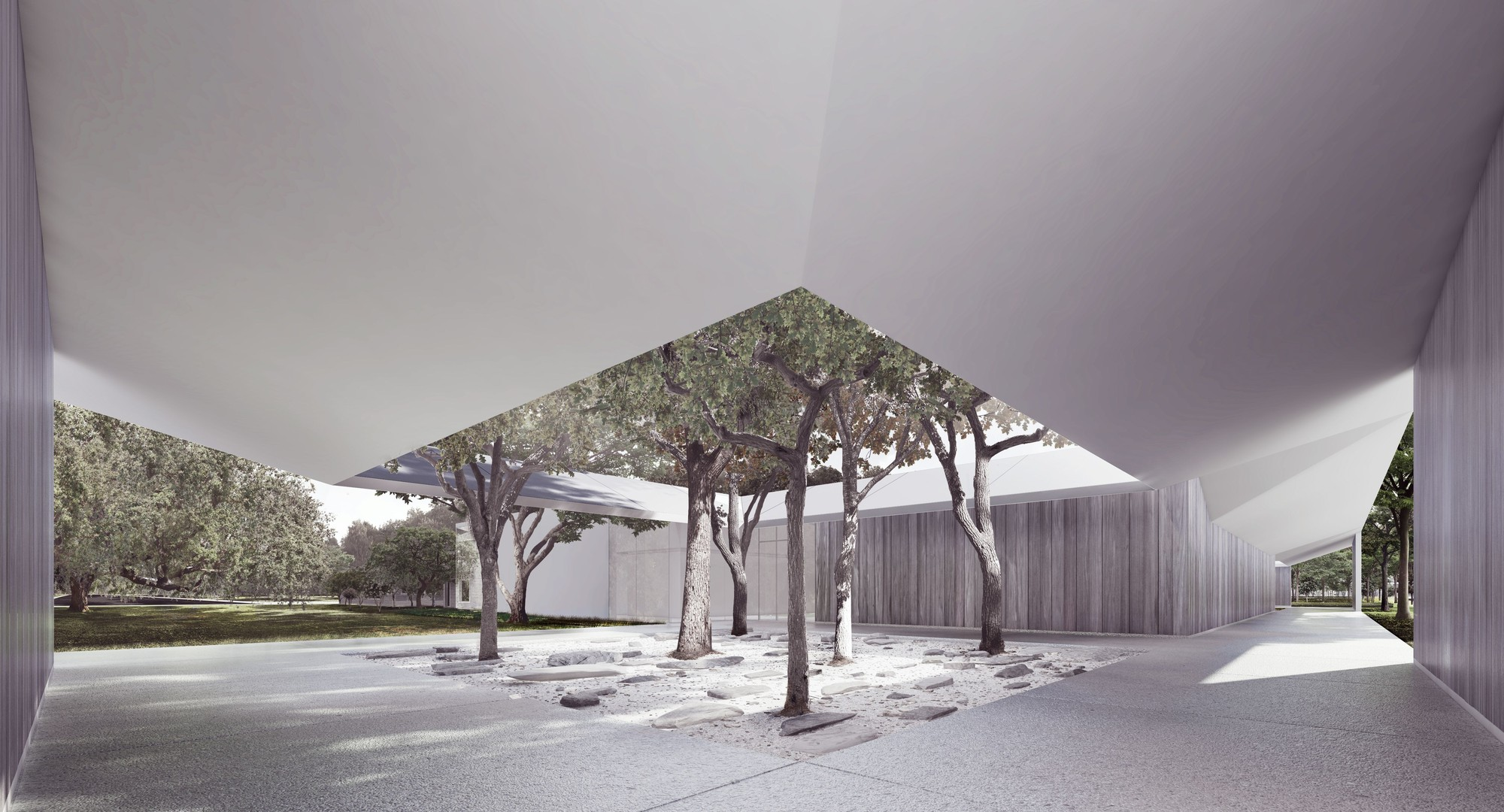Johnston Marklee S Design For Menil Drawing Institute To