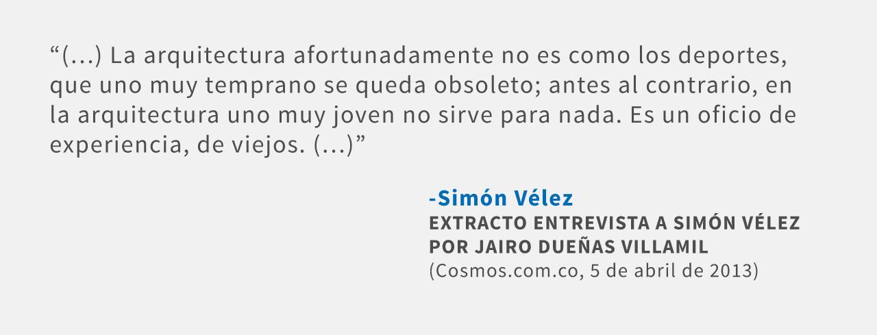 Frases: Simón Vélez