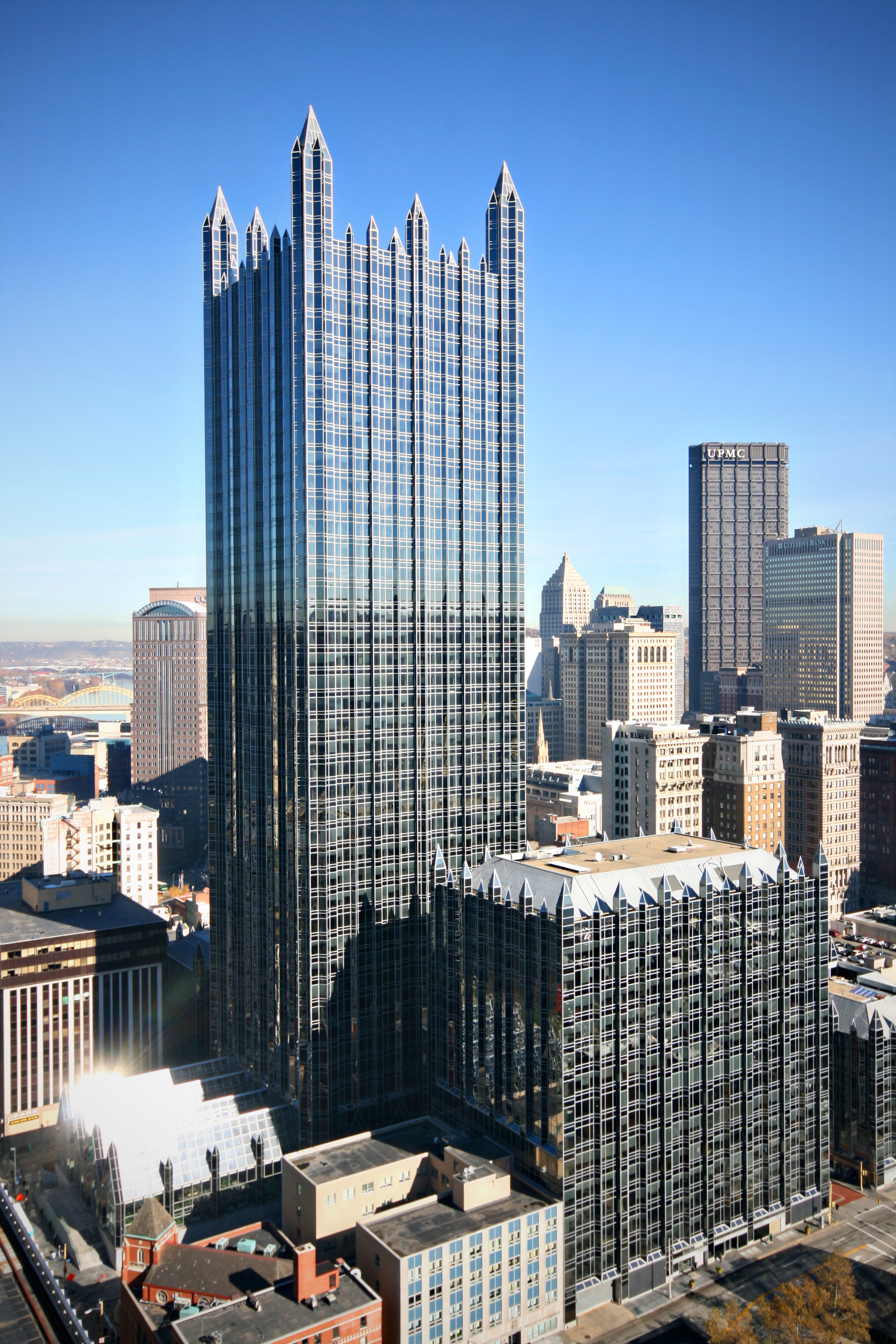 Gallery of AD Classics: PPG Place / John Burgee Architects ...