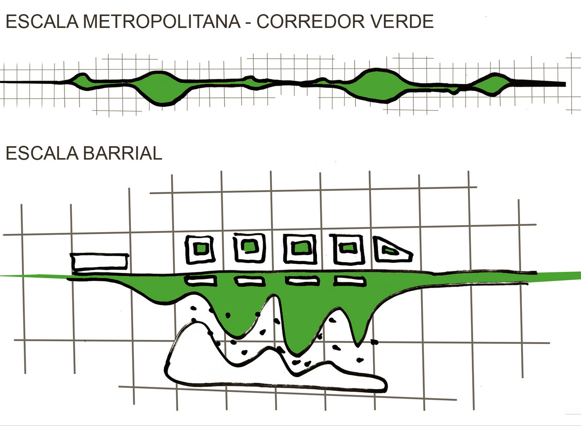 Esquema Verde. Image Courtesy of Edgardo Barone y Gabriela Lucchini