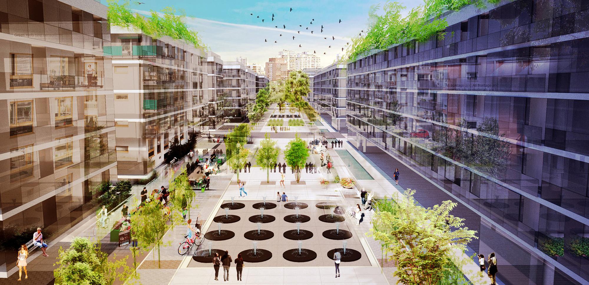 Primer lugar concurso nacional plan maestro playa for Plan de arquitectura