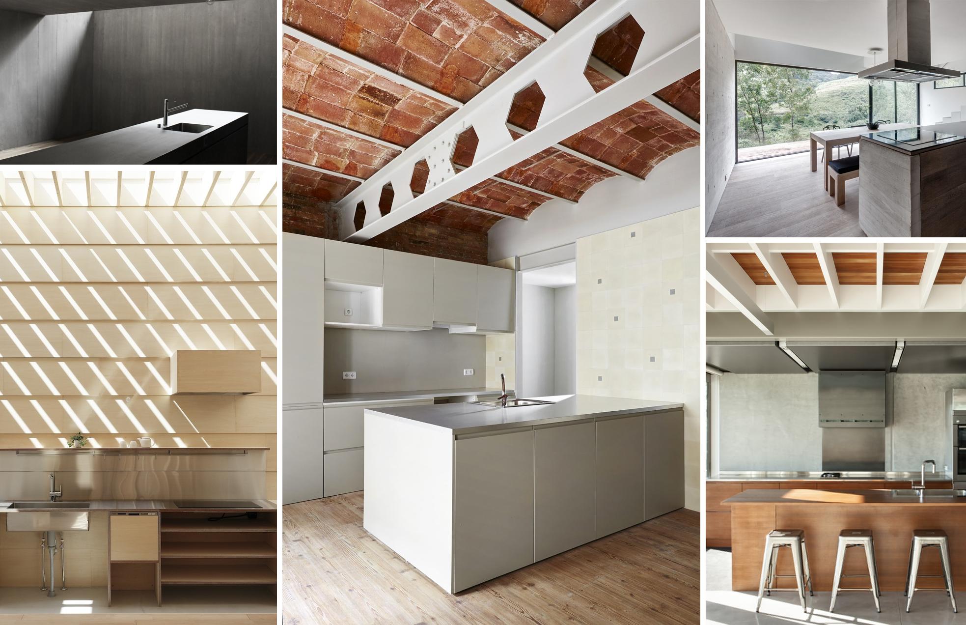 En detalle cocinas plataforma arquitectura for Lavadero empotrado