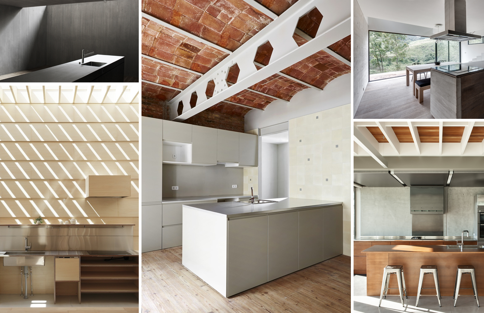 En detalle cocinas plataforma arquitectura for Plataforma arquitectura
