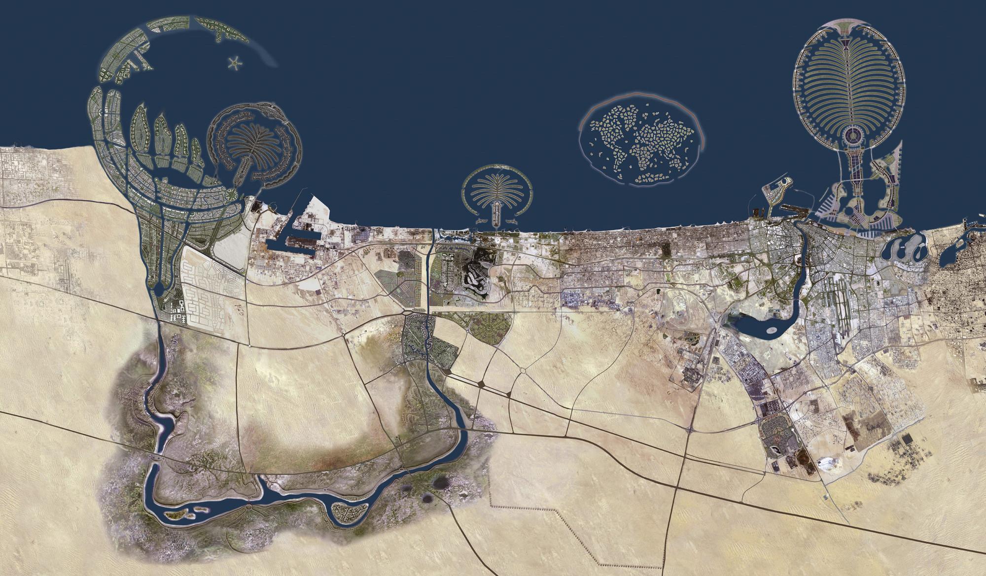 Dubai - Emiratos Árabes Unidos. Imagen Cortesía de http://obviousmag.org/