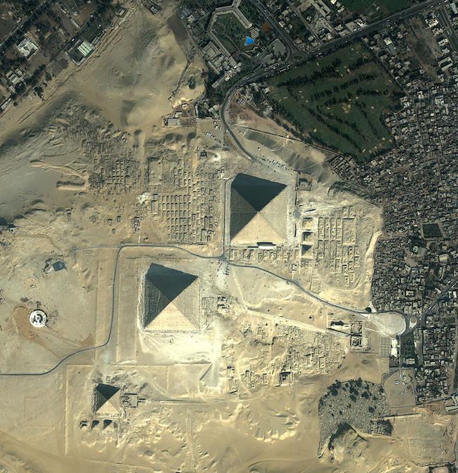 Pirámides de Egipto - Egipto. Imagen Cortesía de http://obviousmag.org/