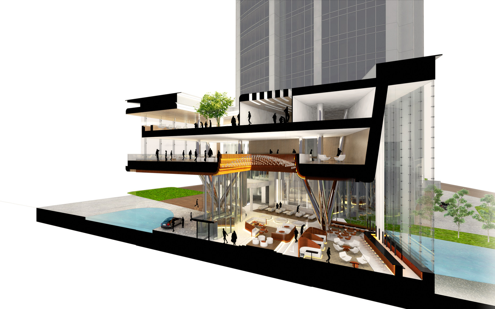 Gallery of woods bagot reveals design for wenling sheraton for Design hotel f 6 genf