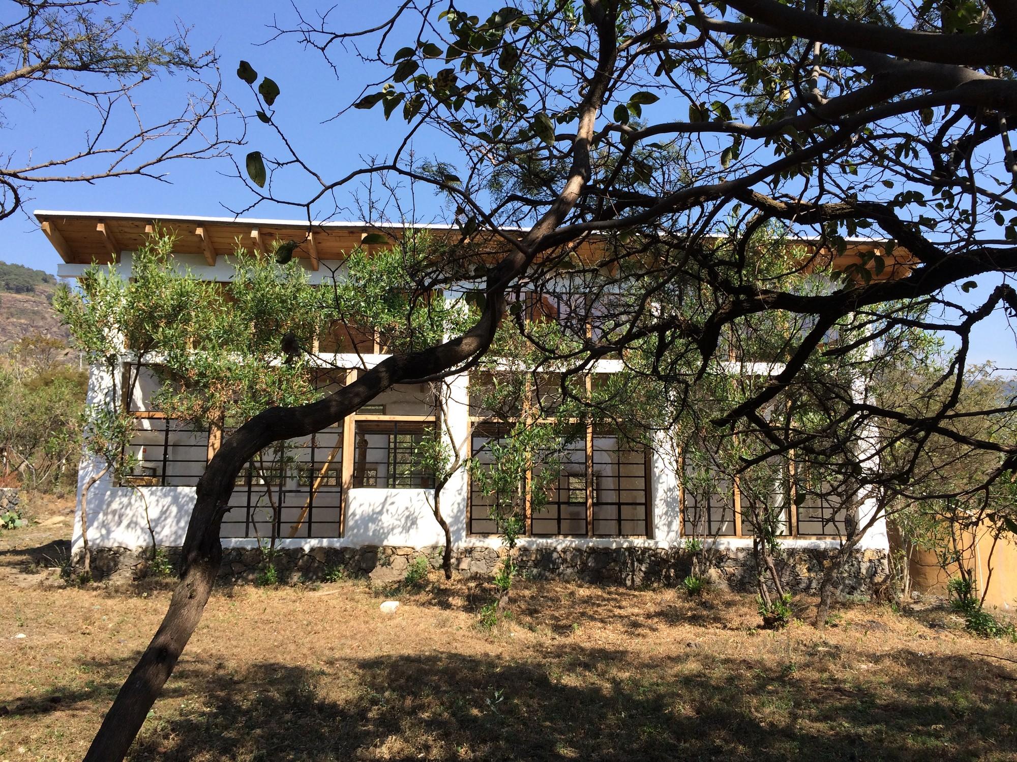 Proyecto Casa en Tepoztlán / Cortesía de LABMx