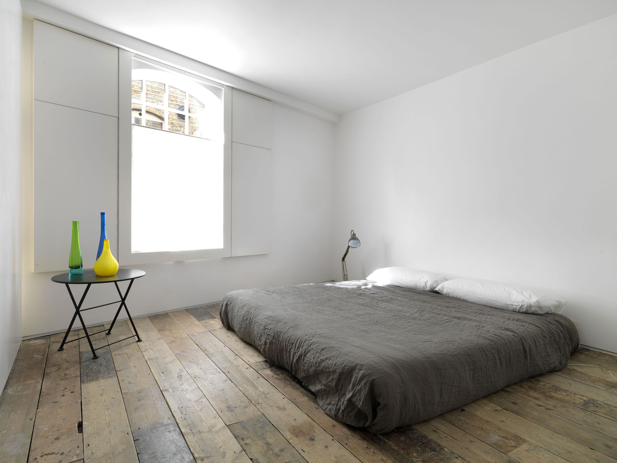 Gallery of bermondsey warehouse loft apartment form - Chambre style loft industriel ...