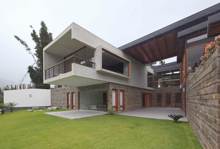 Casa Abanico  / Cynthia Seinfeld Lemlig , © Juan Solano