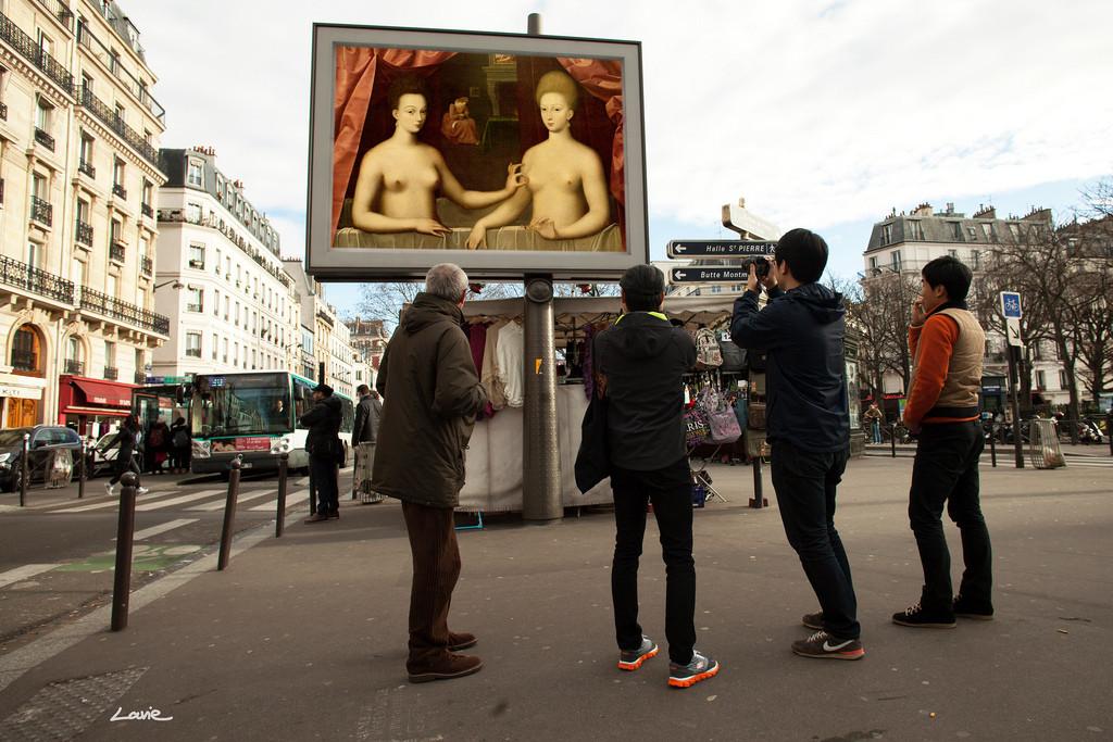"""""""OMG, ¿Quién se robó mis anuncios?"""": Una apropiación del espacio público a través del Arte, Cortesía de etiennelavie.fr"""