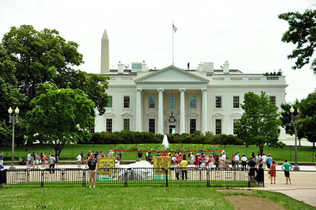 Sign the Petition: Award All US Federal Projects via Open Competition, The White House. Image © Karissa Rosenfield