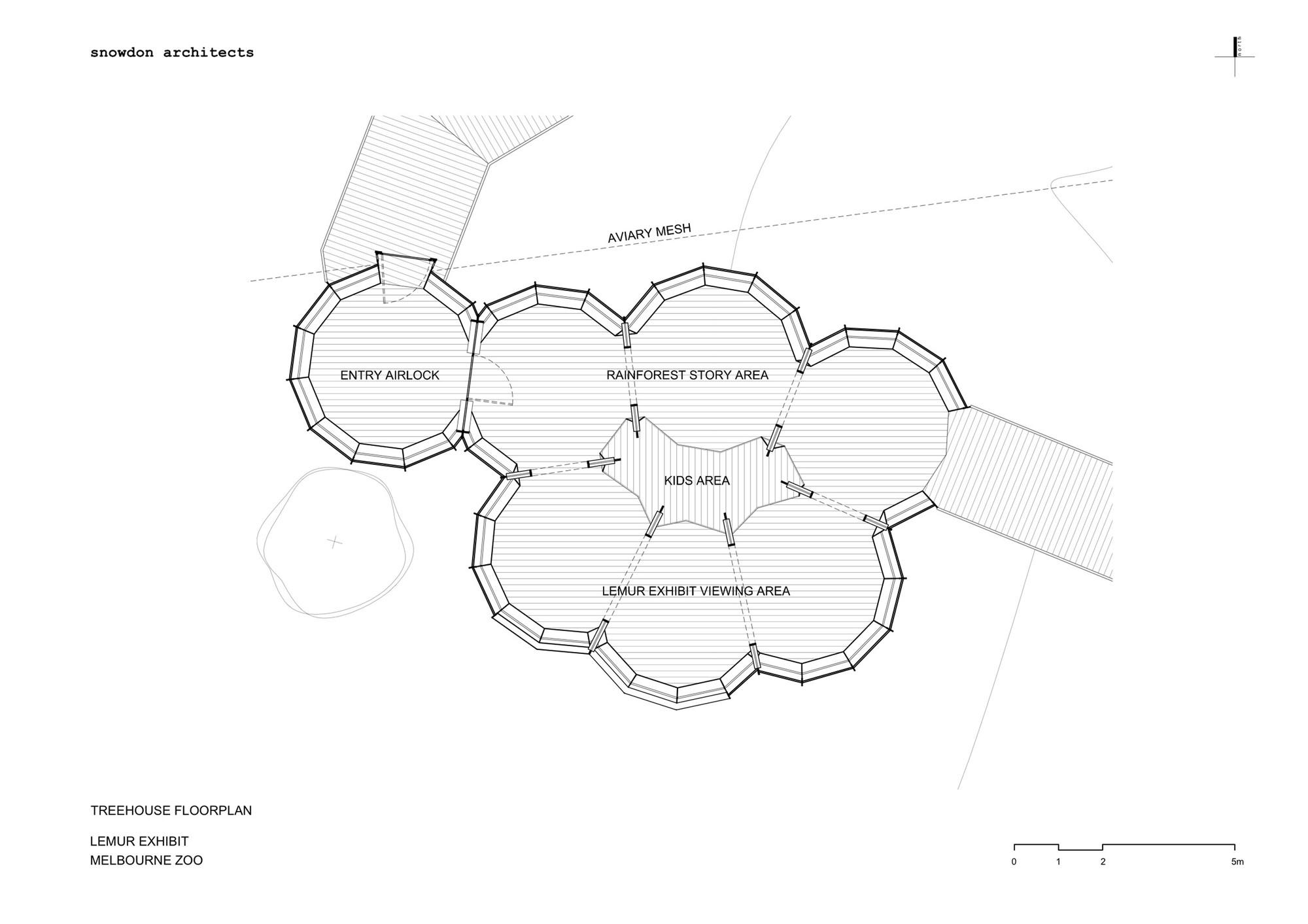 gallery of lemur exhibit snowdon architects 14 theehouse floor plan