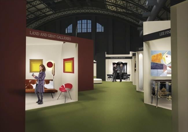 """El experimento estructural de Rafael Viñoly para la feria de Arte """"Spring Masters"""" en Nueva York, Cortesía de Artvest Partners / Rafael Viñoly Architects"""