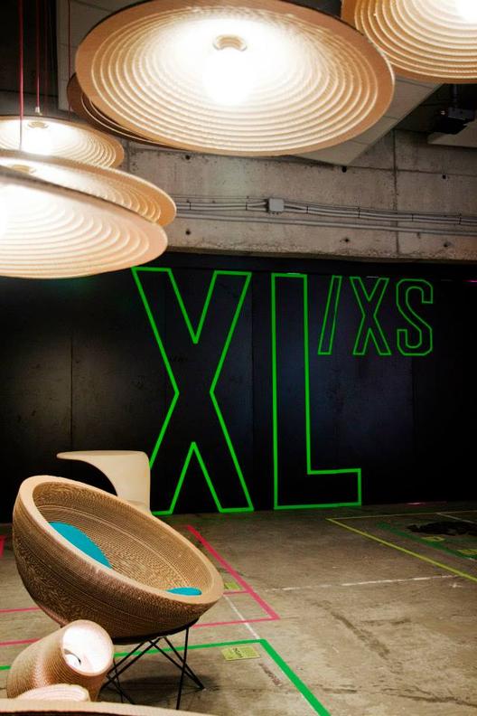 Recorrido por la exposición XL/xs en Espai Rambleta / Ramón Esteve, Courtesy of Exposición XL/xs
