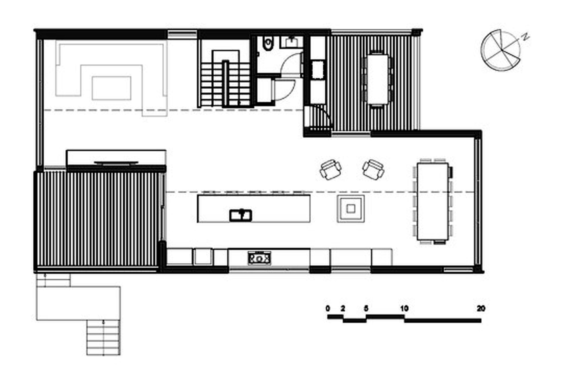 Gallery of malbaie viii residence mu architecture 25 for Planos de cocina en pdf
