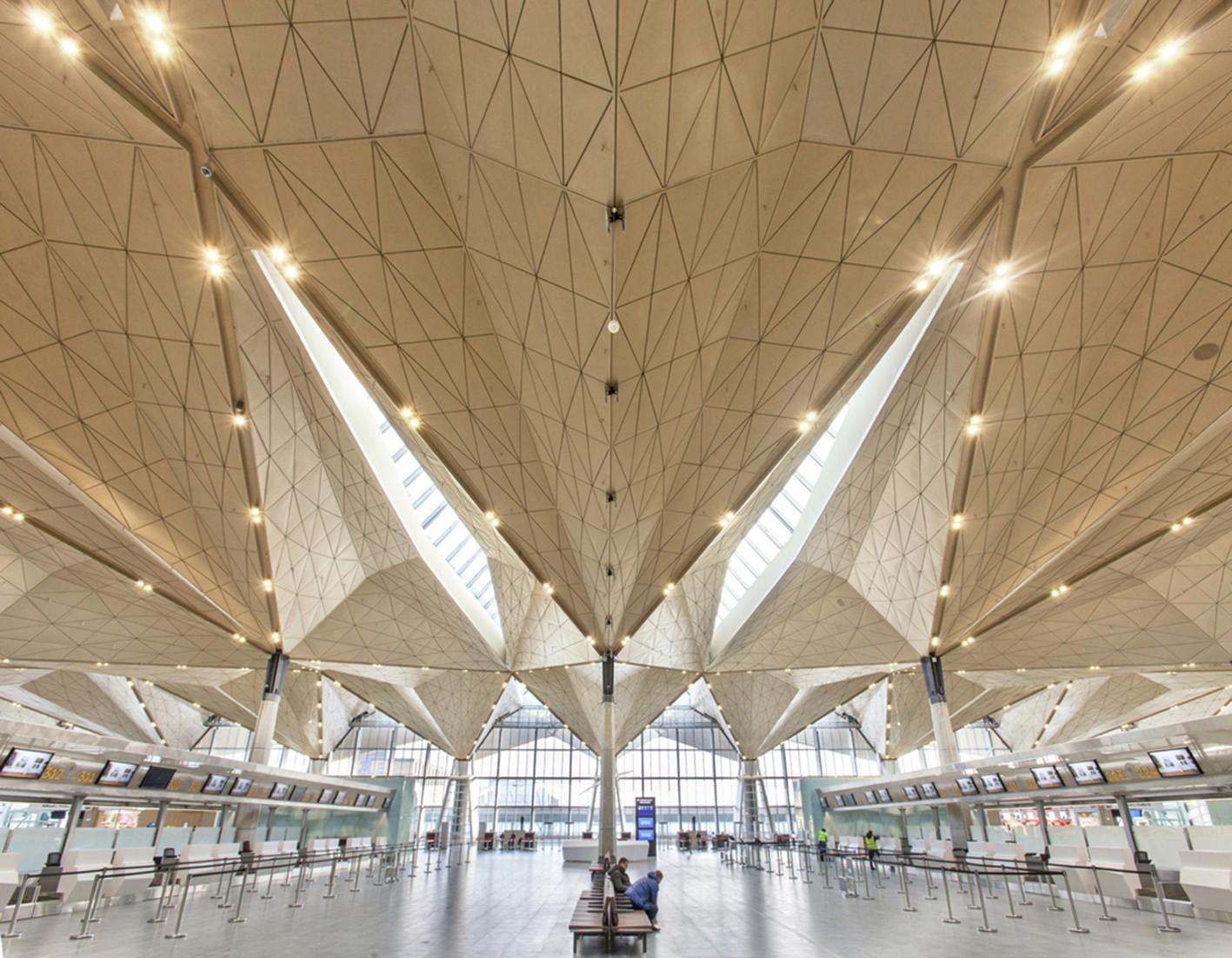 Pulkovo International Airport / Grimshaw Architects + Ramboll + Pascall+Watson, Courtesy of Grimshaw Architects