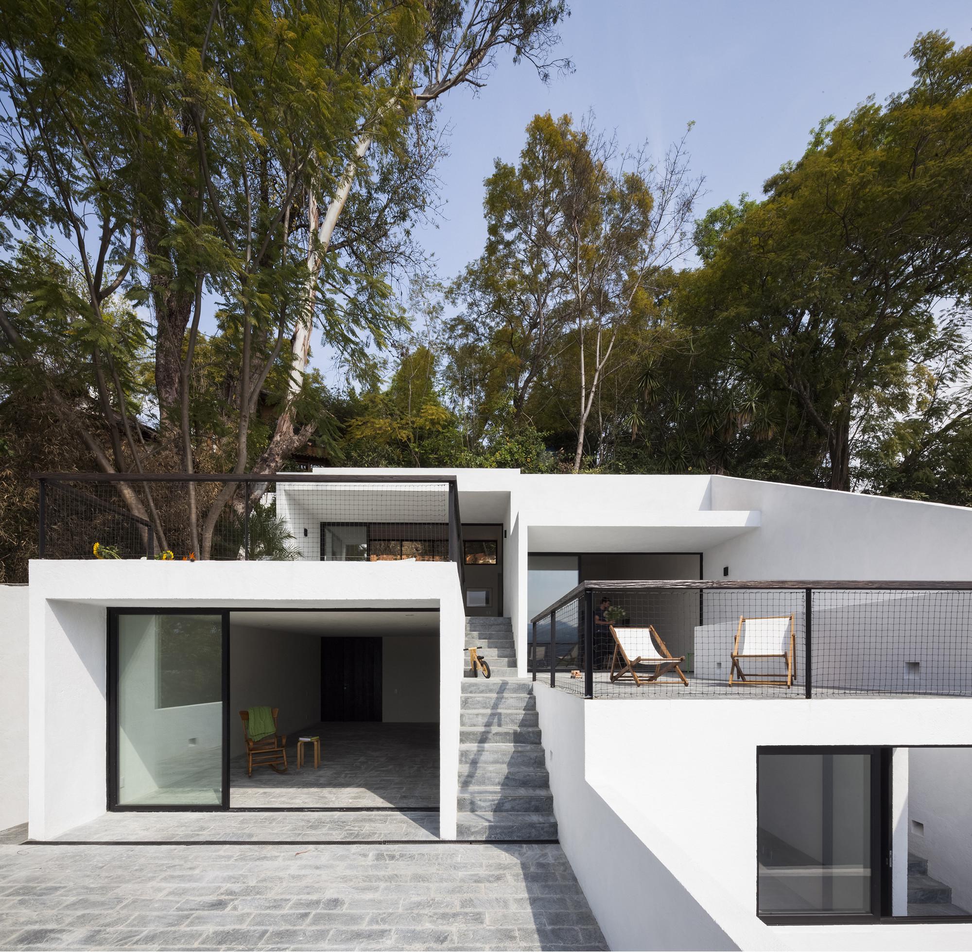 House of Stairs / Dellekamp Arquitectos, © Sandra Pereznieto